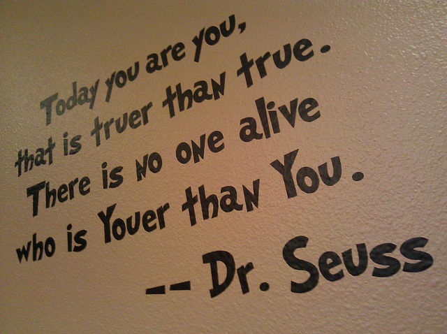 dr seuss on being