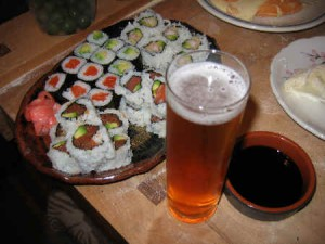 Fun-Guys_Dinner_Tolmach_March-2010_Sushi-Beer
